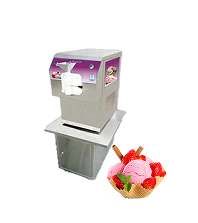 single flavour softy machine